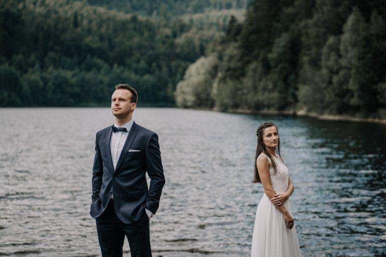 Sesja ślubna w Wiśle Czarne