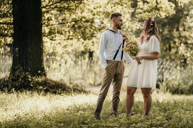 Sesja zaręczynowa w Świerklańcu