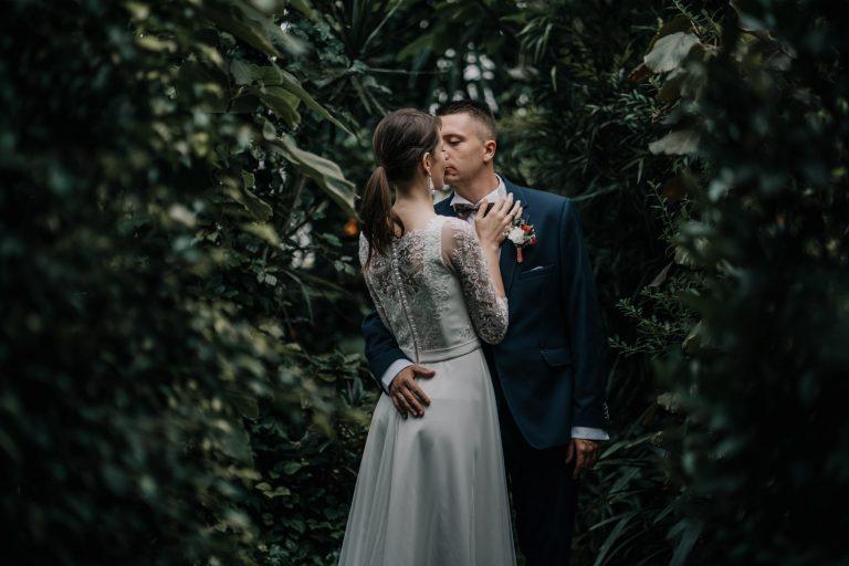 Sesja ślubna Ogród Botaniczny Zabrze