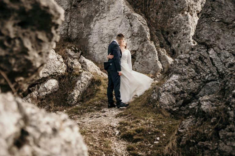 Sesja ślubna - Zamek w Ogrodzieńcu