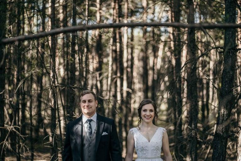 Magdalena i Paweł - Sesja ślubna Pustynia Błędowska