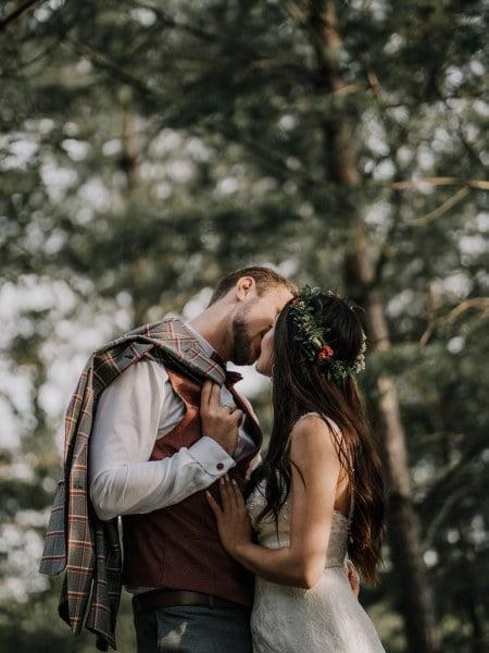 Karina & Martin – sesja ślubna w Parku Gródek