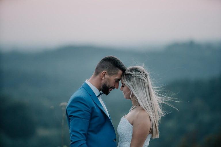Karolina & Robert - sesja ślubna góra zborów