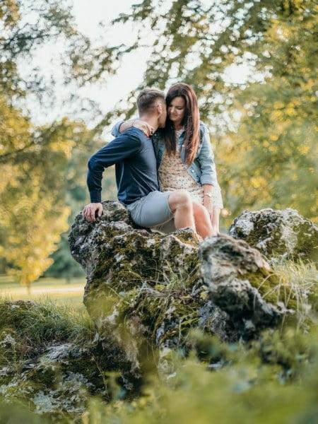 Dorota & Martin – sesja zaręczynowa w Świerklańcu