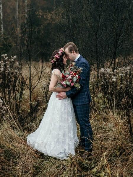 Ewelina & Dawid – sesja ślubna Park Segiet Bytom