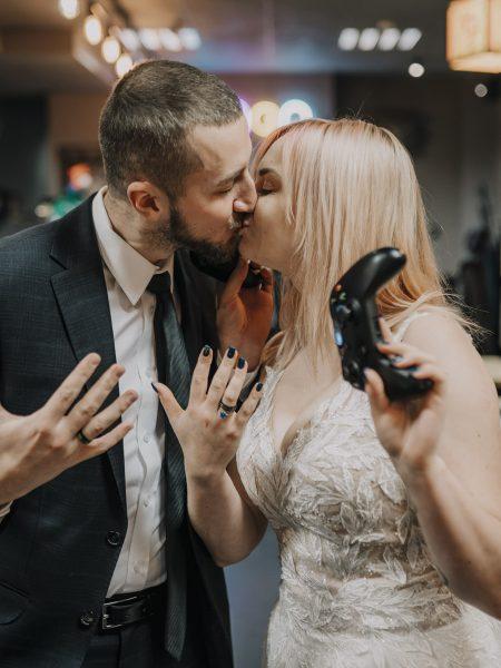 Alternatywna sesja ślubna w Cybermachinie!