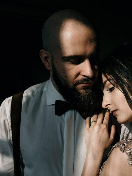 Karolina & Patryk – sesja ślubna Pałac w Krowiarkach